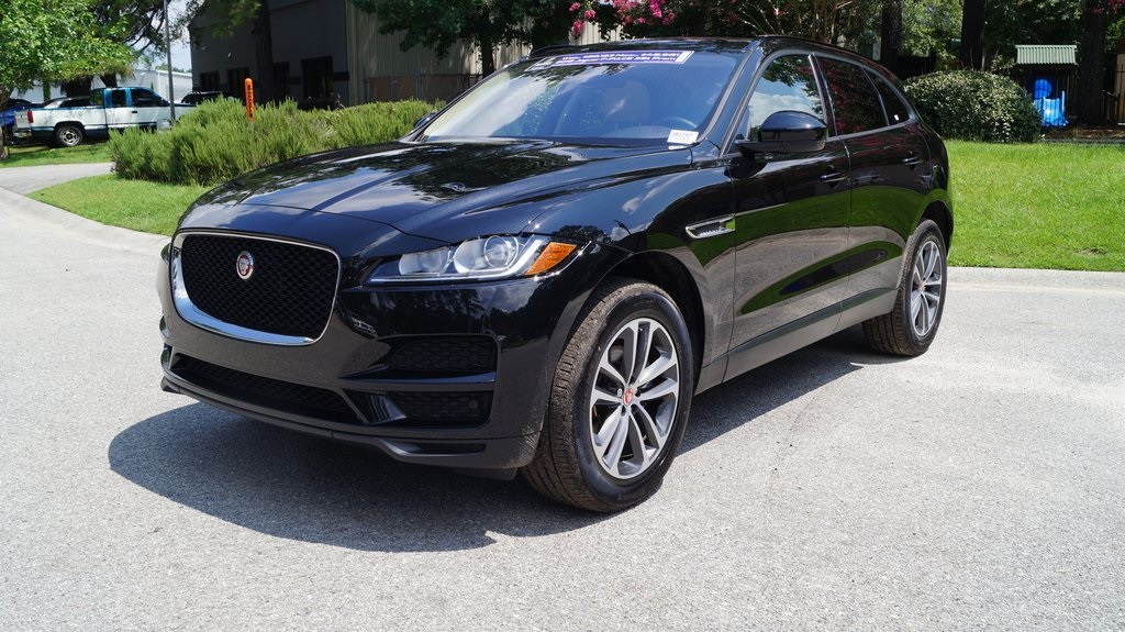 pre owned 2018 jaguar f pace 25t premium 4d sport utility in charleston ja1757l jaguar west. Black Bedroom Furniture Sets. Home Design Ideas